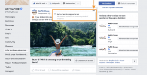 Facebook Advertentie Rapporteren
